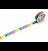 MT washi tape ex Colorful bird