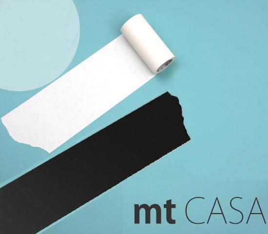 MT Casa washi tape zwart 50 mm