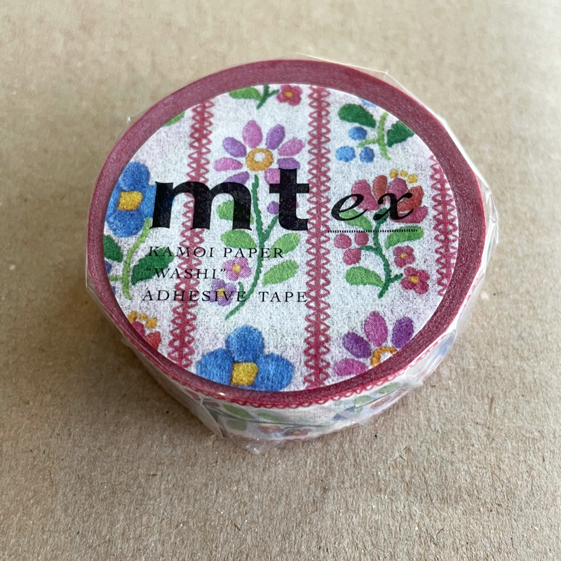 MT washi tape ex embroidery