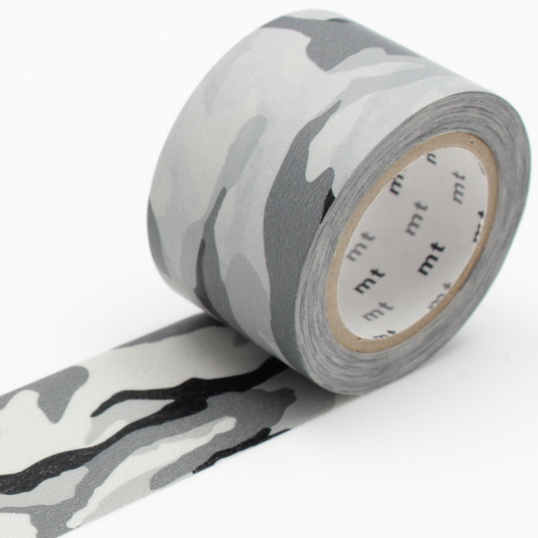 MT washi tape ex camouflage monochrome