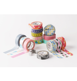 MT washi tape border peach pink