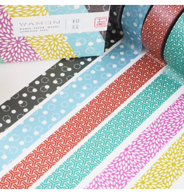 MT  MT washi tape set Wamon 4