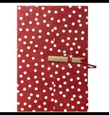 Lamali Bamboo Escapade Notebook blanc dot