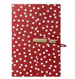 Lamali Lamali Bamboo Escapade Notebook blanc dot