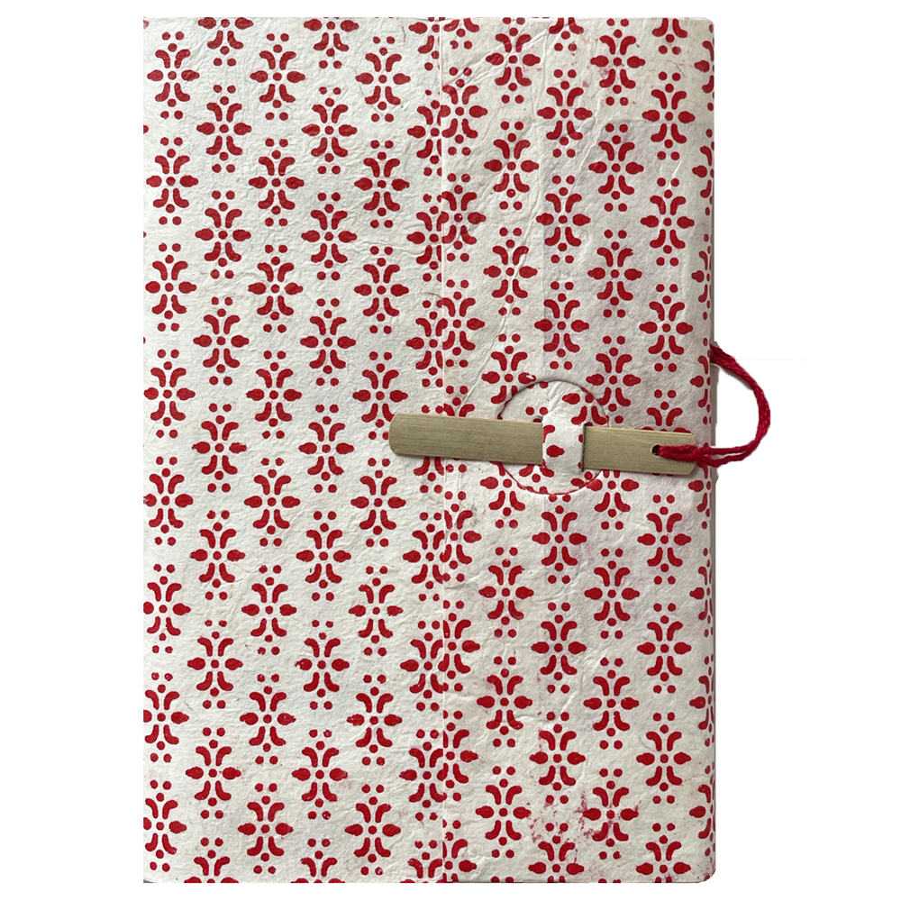 Lamali Bamboo Escapade Notebook ornament