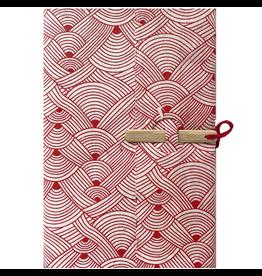 Lamali Lamali Bamboo Escapade Notebook motif la laine