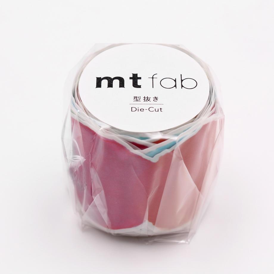 MT washi tape Fab die-cut Blurred watercolor paint