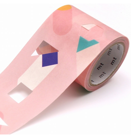 MT  MT washi tape Fab die-cut Stretching shape