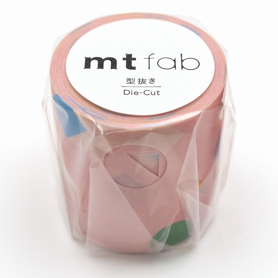 MT washi tape Fab die-cut Stretching shape