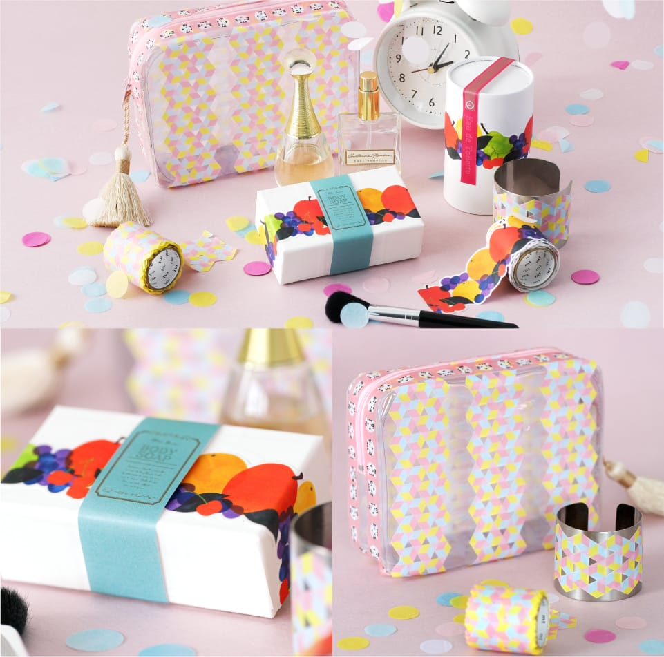 MT washi tape Fab die-cut Color & pattern block