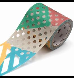 MT  MT washi tape Fab die-cut Color & pattern block