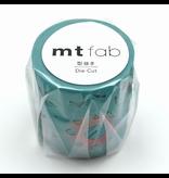 MT washi tape Fab die-cut Cutout flower