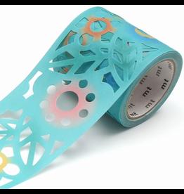 MT  MT washi tape Fab die-cut Cutout flower
