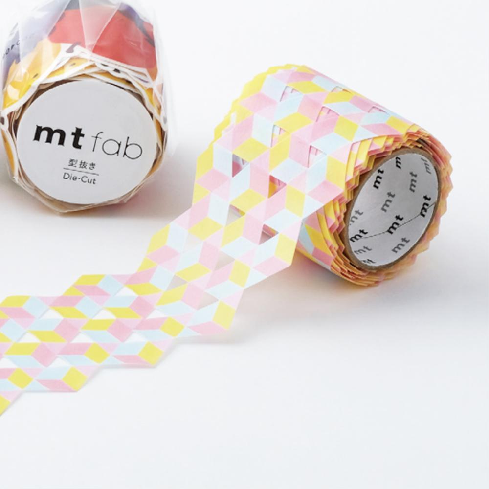 MT washi tape Fab die-cut Stars & tiles