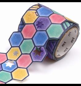 MT  MT washi tape Fab die-cut Stars & tiles