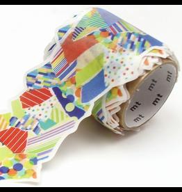 MT  MT washi tape Fab die-cut Torn paper