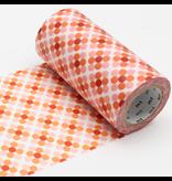 MT casa washi tape Oboro dot fire 100 mm