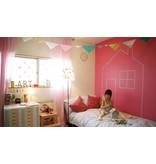MT washi tape casa Stripe salmon pink 100 mm