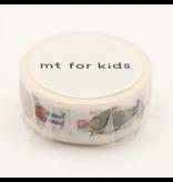 MT washi tape kids Work human