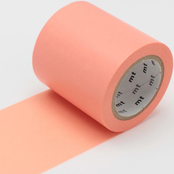 MT casa washi Salmon pink 50 mm