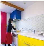 MT casa washi fleece Tile star
