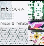 MT casa washi fleece Birds and flowers