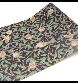 MT  MT casa washi fleece William Morris Bird Pomegranate