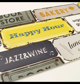 MT  MT casa washi remake sheet Vintage sign plate