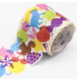 MT washi tape Fab die-cut Stamps