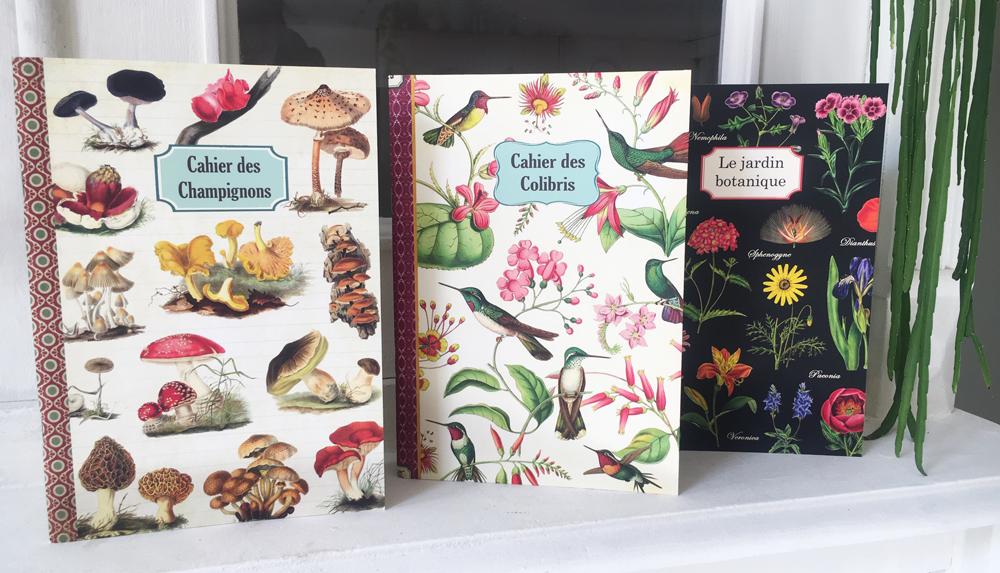 Geïllustreerd notebook Horticulture et Jardinage