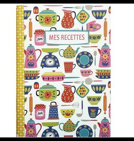 Gwenaëlle Trolez Créations Geïllustreerd notebook Mes recettes