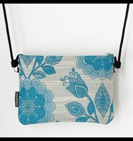 Huisteil creaties Etui-tas Huisteil Flowers in blue