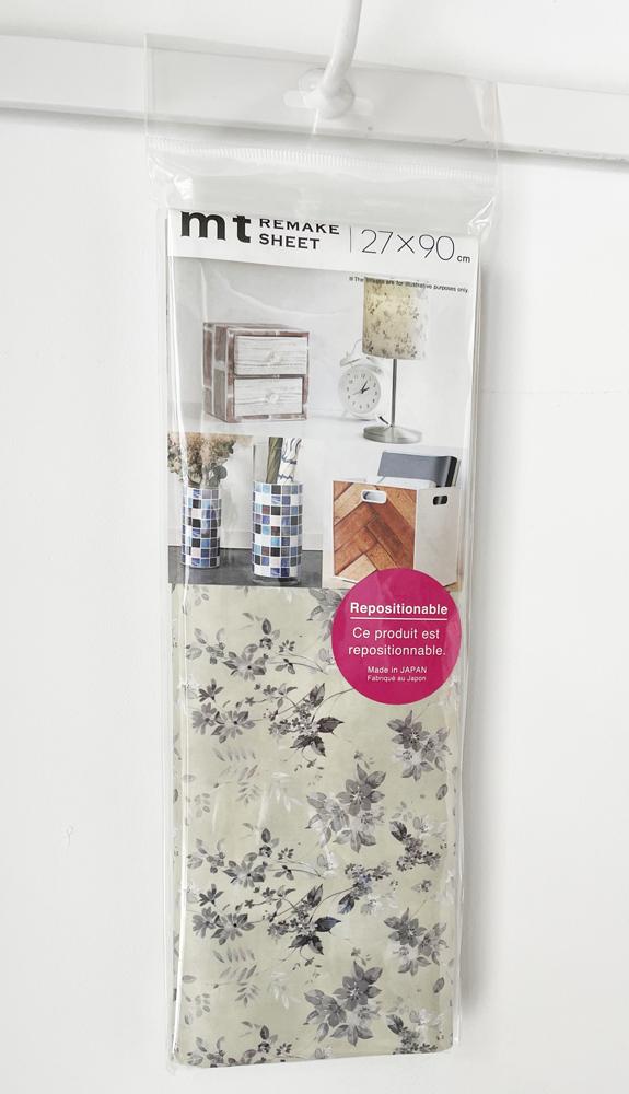 MT casa washi remake sheet Botanical flower