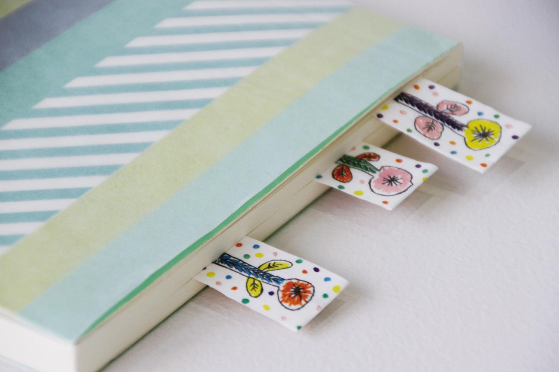 MT washi tape slim set white 3 mm