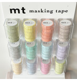 MT washi tape pastel purple