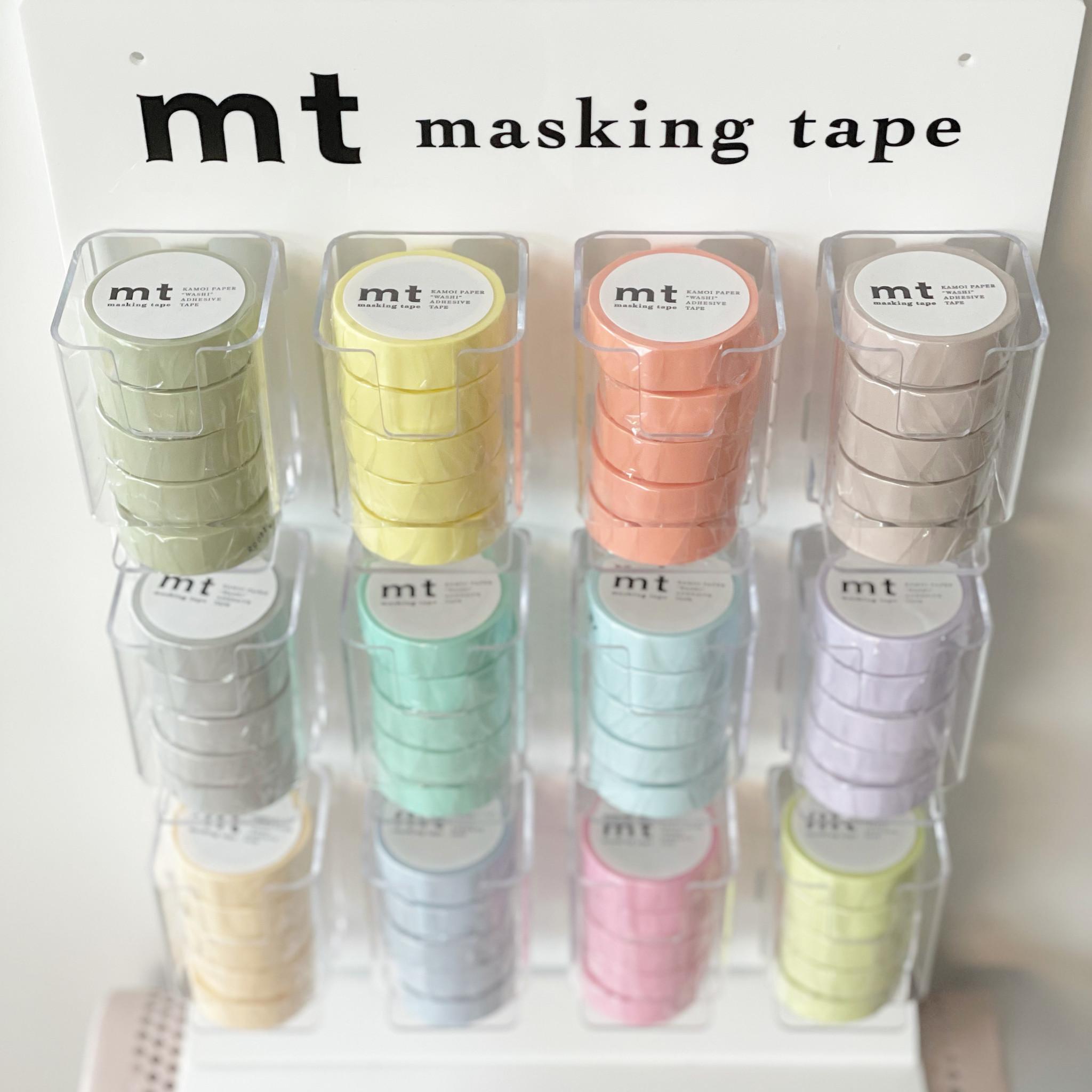 MT washi tape pastel orange