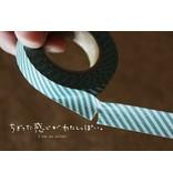 MT washi tape shocking green