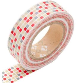 MT  MT masking tape tile red