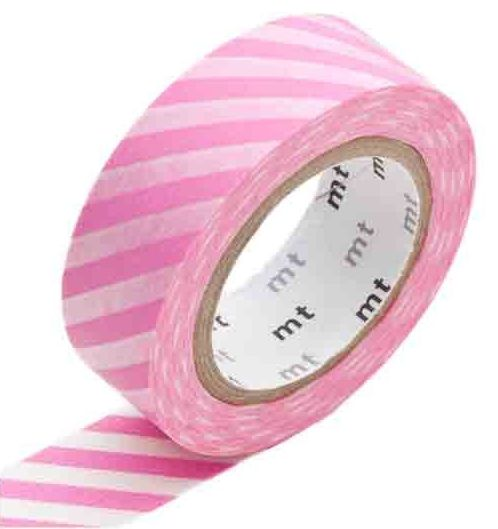 MT masking tape stripe pink