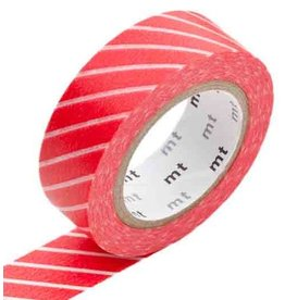 MT  MT washi tape stripe red