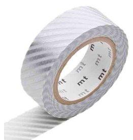 MT  MT masking tape zilver streep
