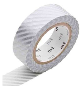 MT  MT washi tape stripe silver