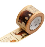 MT washi tape ex encyclopedia animal