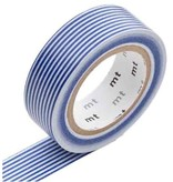 MT masking tape border blue
