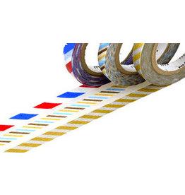 MT  MT washi tape slim twist stripes