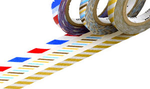 MT washi tape slim twist stripes