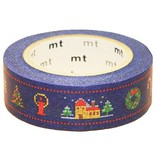 MT washi tape Kerst stitch