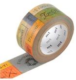 MT washi tape ex message