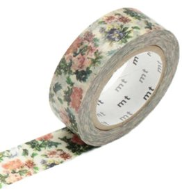 MT  MT washi tape ex flower botanical art