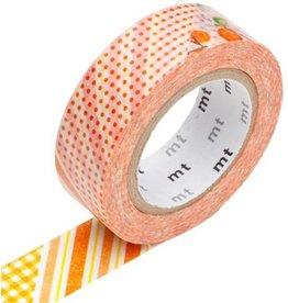 MT  MT washi tape ex flower orange